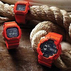 Casio's is from the family of G Shock G Shock Watches, Casio G Shock, Sport Watches, Cool Watches, Watches For Men, Men's Watches, Nike Watch, G Shock Men, Watches Photography