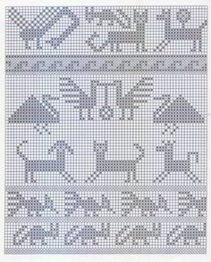 Album Archive - Andean Knitting charts + The Andean Tunics (Met. Crochet Doily Patterns, Crochet Chart, Loom Patterns, Thread Crochet, Cross Stitch Patterns, Crochet Doilies, Dress Patterns, Knitting Charts, Knitting Stitches