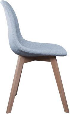 Que pensez-vous de chaise scandinave en tissu gris, avec ses pieds en bois ? On adore ! Plein de coloris de cette chaise sont disponibles, alors n'hésitez pas à cliquer pour les découvrir :)