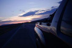 Atardecer en carretera.    Aldama Chihuahua.  14 de noviembre 2015.    #highway #sunset #travel #chihuahua