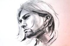 Ritratto di Kurt Cobain