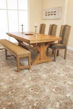 French Impressions in Fawn/Peach. Available at Rodgers of York. Parker Knoll, Axminster Carpets, Dining Table, Peach, Traditional, York, Furniture, Design, Home Decor