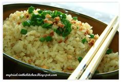 My Trials in the Kitchen: Garlic Butter Fried Rice #SundaySupper