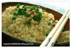 My Trials in the Kitchen: Garlic Butter Fried Rice #SundaySupper