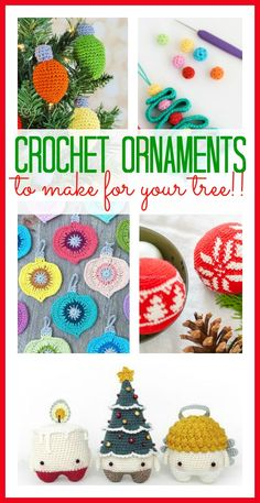 Crochet Ornament Round Up More