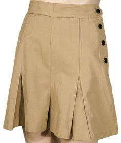 1930s Gabardine Shorts