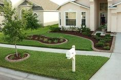 Nice Front Garden Landscaping Ideas Front Yard Landscaping For ...
