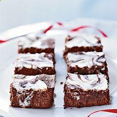 Cream Cheese-Swirled Brownies | CookingLight.com