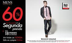 ¿Rebajas de #moda? Encuéntralas en nuestra tienda online con el exclusivo descuento del 60% en la segunda prenda. Ingresa ahora: www.mensfashion.com.mx #BuenFin