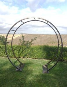 Ldj452 Bulk Round Strong Metal Arch Wedding Garden Arch - Buy Strong ...