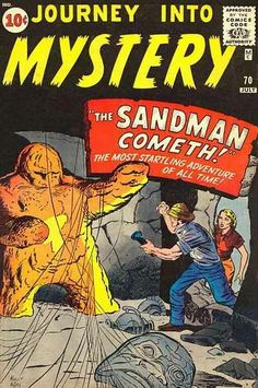 Journey Into Mystery # 70 by Jack Kirby & Dick Ayers