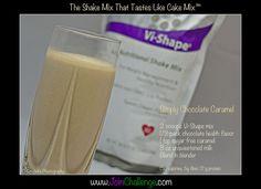 Chocolate Caramel Visalus Body by Vi recipe
