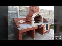 Multifuncţional de Grădină Oncea - YouTube Brick Grill, Nicu, Bungalow, Bbq, Make It Yourself, Ovens, Building, Projects, Outdoor