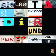 Die Leertaste zwischen dir und deiner ... #problem #zone #words #body #fitness #workout #motivation #goals #instagood #poetry #urbanpoetry #berlin #wien #zürich