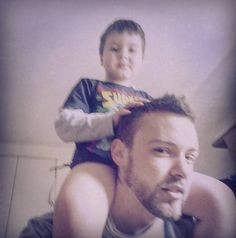 Random morning stuff with this beauty..... #dad #son #morning #love #iloveyou #playing #bed #superman #beard #bearded #guy #us #forever #ever #padre #figlio #mattina #amore #tiamo #letto #barba #noi #persempre #london #londra #uk #instagram #instamorning #pictoftheday by claudioilluminati_