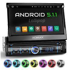 Autoradio Mit Android 5 1 Gps Navigation Touchscreen Bildschirm