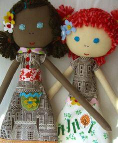 Como fazer boneca de pano 15
