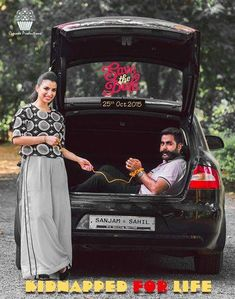 Save the date | Quirky wedding poster ideas #uniqueideas #indianbride #wedmegood #indiawedding