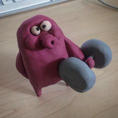 Dumbbells #clay #sculpt#clay #sculpt #stopmotion #stop #motion