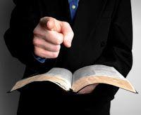 Pregações e Estudos Bíblicos: O que eu não posso pregar