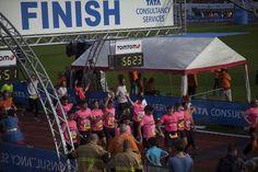 Donorrun during the Amsterdam Marathon