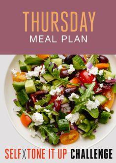 Self x Tone It Up Challenge – Thursday Recipes - Greek Salad