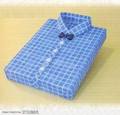 Zapakuj prezent w papier normalnym sposobem. Z papieru… na Stylowi.pl