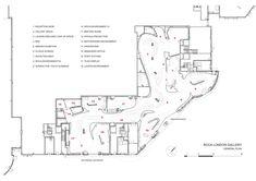 La Roca London Gallery conçu par Zaha Hadid Architects…