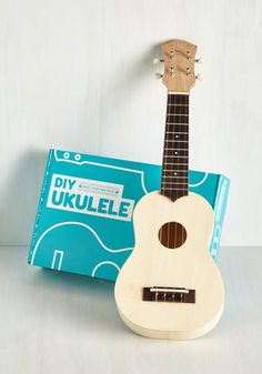 Strum of a Kind DIY Ukulele - From the Home Decor Discovery Community at www.DecoandBloom.com