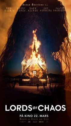 Lords of Chaos « NRK Filmpolitiet - alt om film, spill og tv-serier Chaos Lord, Great Films, Black Metal, Movie Tv, Musicals, Movie Posters, Books, Movies, Libros