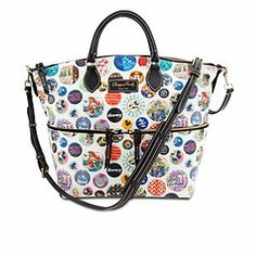 Disney Mickey Mouse Satchel by Dooney & Bourke | Disney StoreMickey Mouse Satchel by Dooney & Bourke - Legendary Dooney & Bourke quality and style meets iconic Disney magic in this satchel featuring colorful artwork of classic park icons. Crafted of durable cotton and leather, this fine fashion tote has lots of room for your treasures.