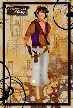 Steampunk Aladdin by HelleeTitch.deviantart.com on @deviantART