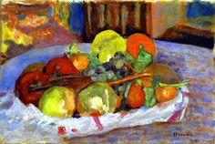 Still Life with Apples Pierre Bonnard - 1924