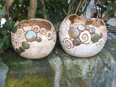 Images for pottery ideas Pottery Bowls, Ceramic Bowls, Ceramic Pottery, Ceramic Art, Pottery Ideas, Pottery Handbuilding, Clay Bowl, Ceramic Flower Pots, Native American Pottery