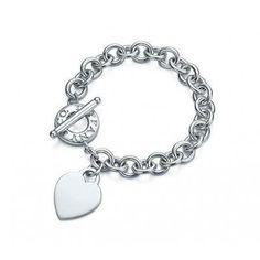 Tiffany Heart Bracelet HEART TAG Toggle Bracelet