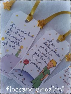 little prince bookmark tag-tag segnalibro piccolo principe little prince bookmark tag – Holidays – Favors – of bow … Wedding Favors, Party Favors, Prince Wedding, Little Prince Party, Party Kit, First Communion, Flower Boxes, Book Making, Christening