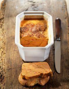 Recette de terrine de foie gras de canard mi cuit Four traditionnel