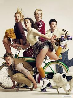 Glee Rolling Stone Cover Photo