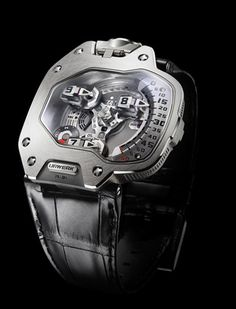Breaking Down The 2011 Grand Prix d'Horlogerie de Genève Awards watch shows events Unusual Watches, Amazing Watches, Beautiful Watches, Cool Watches, Watches For Men, Wrist Watches, Dream Watches, Sport Watches, Mechanical Watch