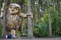 Discover the Forgotten Giants in the Woods of Copenhagen
