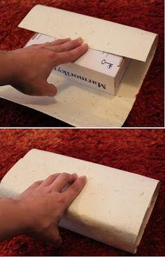Kädenjälkiä - handmade by Eva: Lahjakassi Plastic Cutting Board, Handmade, Food, Hand Made, Essen, Meals, Yemek, Eten, Handarbeit