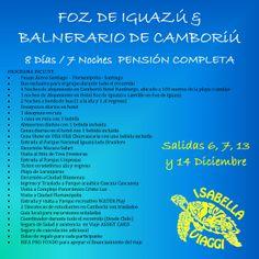 GIRAS DE ESTUDIOS 2014 !! www.viajesisabellaviaggi.com