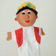 My hand puppet Bakar