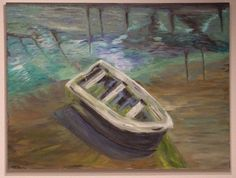 ROW BOAT - 4' x 3' Oil on Canvas (scheduled via http://www.tailwindapp.com?utm_source=pinterest&utm_medium=twpin&utm_content=post170439029&utm_campaign=scheduler_attribution)