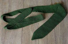 Ravelry: Crochet Tie pattern by Memento Vivere