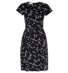 Blue Karen Printed Dress   Dresses   Hobbs