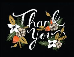 Breanne Thank You Card card by Rifle Paper Co. on Postable.com