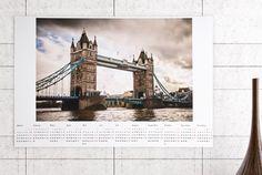 Jahreskalender 30x45 Tower Bridge, Travel, Pictures, Viajes, Trips, Tourism, Traveling
