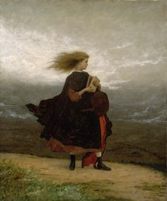 Eastman Johnson The Girl I Left Behind Me Oil on canvas, circa 1872 [From the Smithsonian American Art Museum]