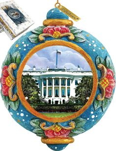Features:  -Comes in a beautiful decorative gift box.  -Made in the USA.  Product Type: -Shaped ornament.  Color: -Multi-color.  Country of Manufacture: -United States.  Primary Material: -Plastic.  A